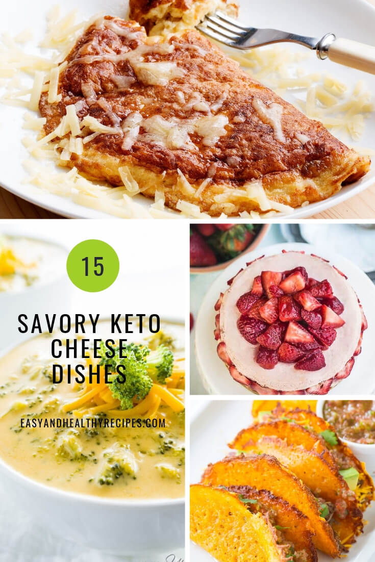 15 keto cheese dishes