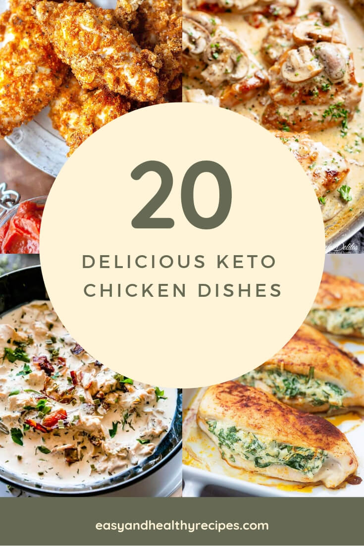 20 keto chicken dishes easy