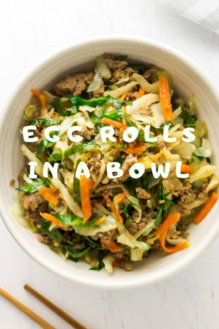 Keto Egg Rolls In A Bowl -easy