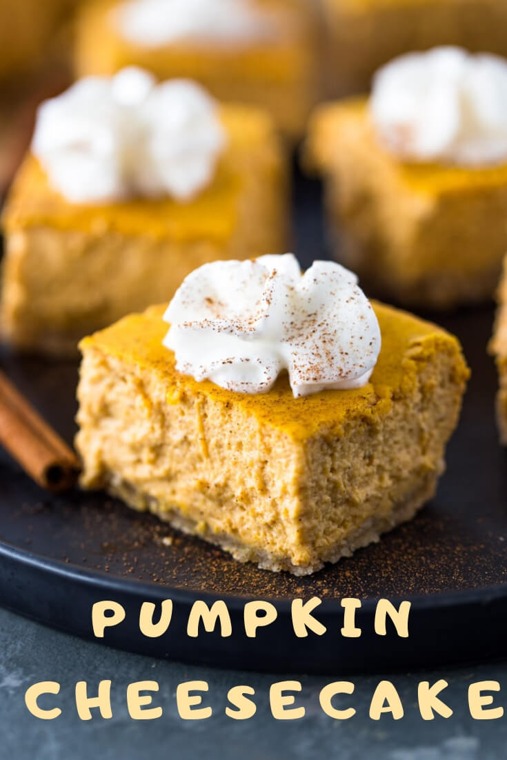 Keto Pumpkin Cheesecake-easy