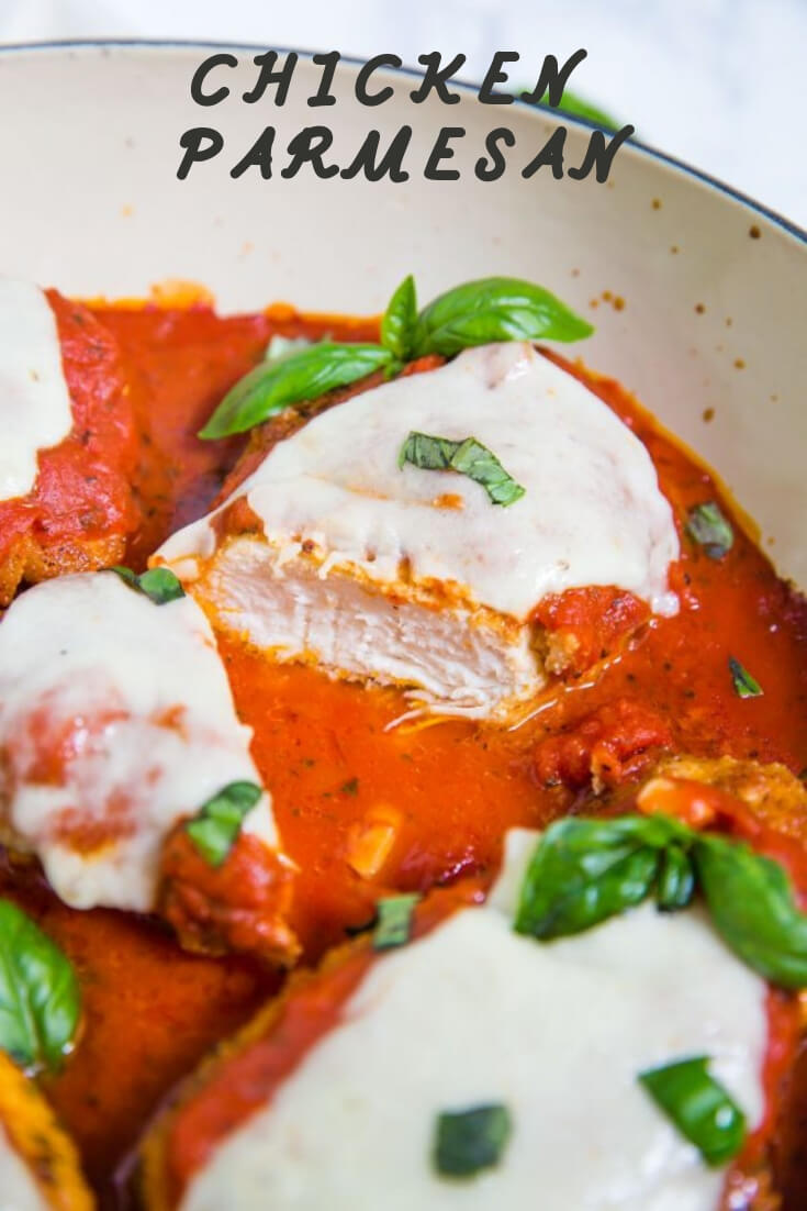 Keto chicken parmesan-easy