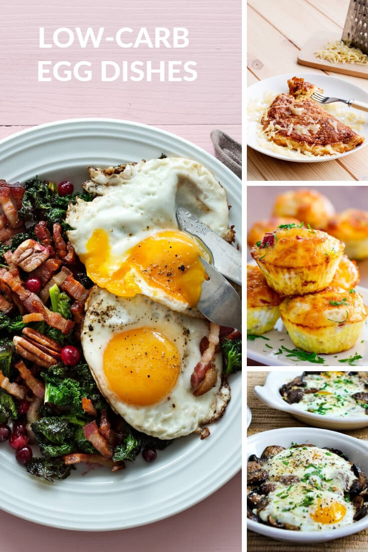 low-carb egg dishes