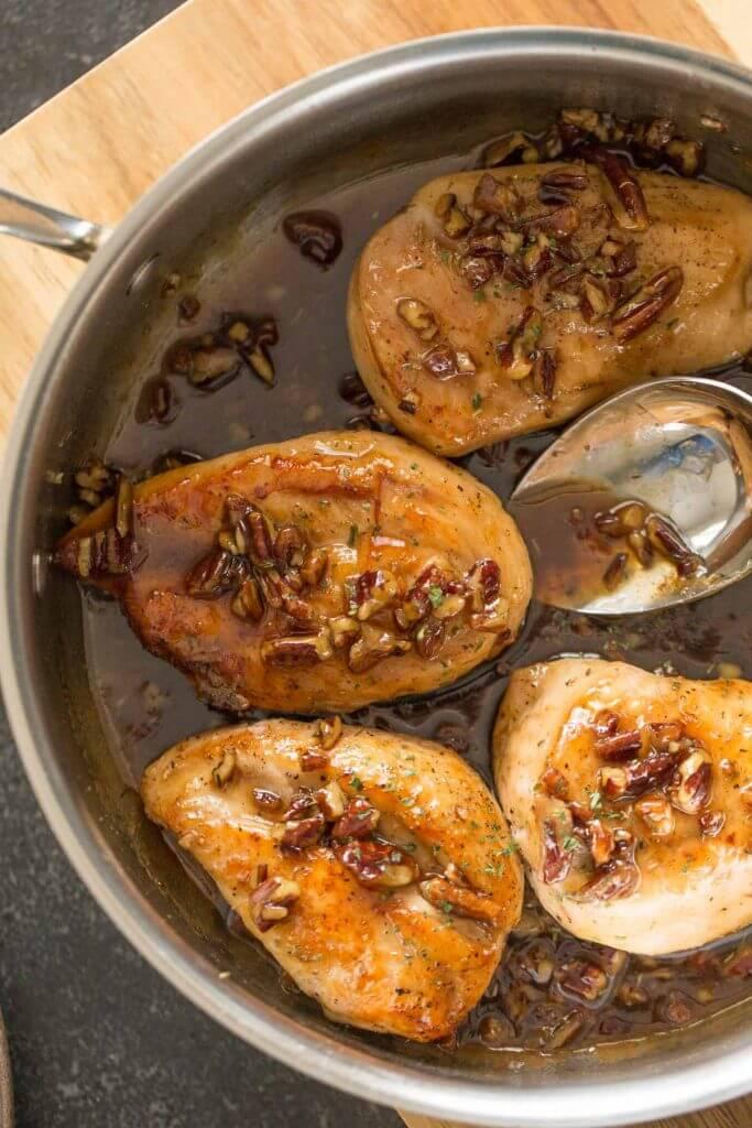 1. Butter Pecan Chicken