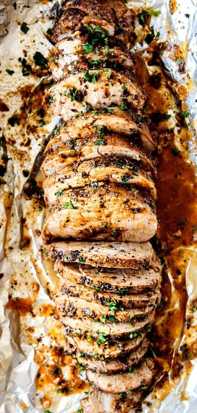 1. Juicy Baked Pork Tenderloin