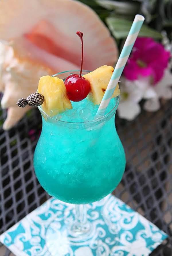 10. Blue Hawaiian Cocktail