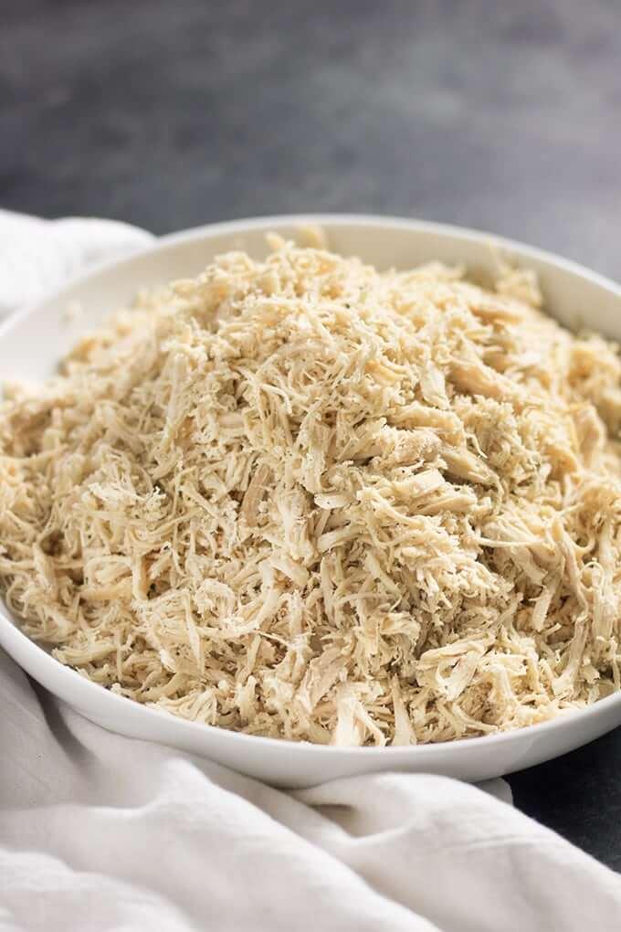 10. Easy Crock Pot Shredded Chicken