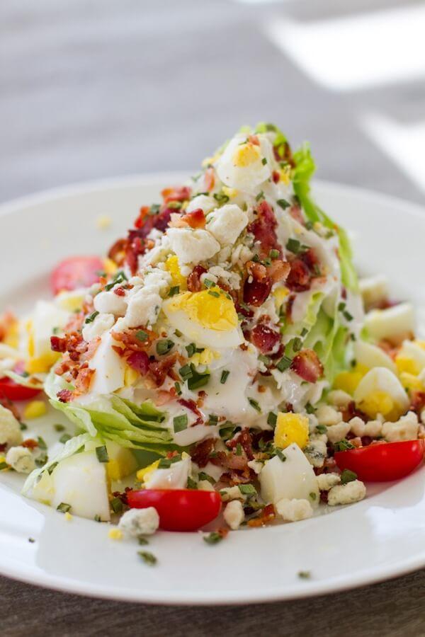 10.Iceberg Wedge Salad