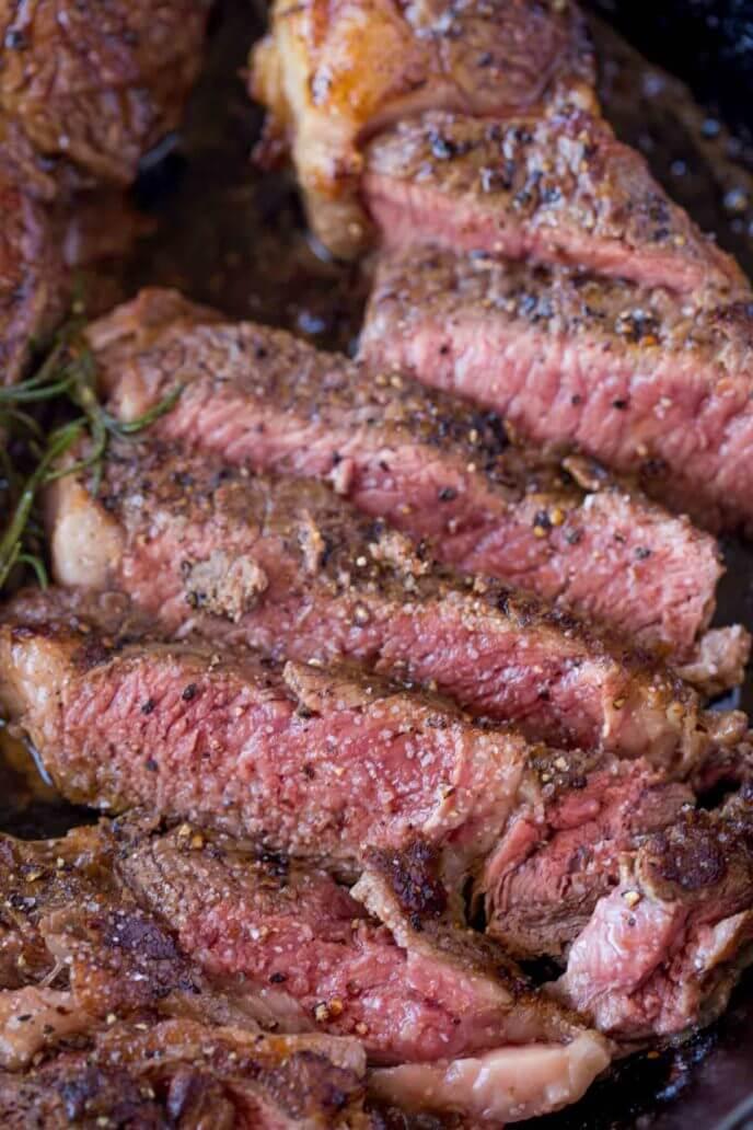 11. Butter RoastedRibeye Steak