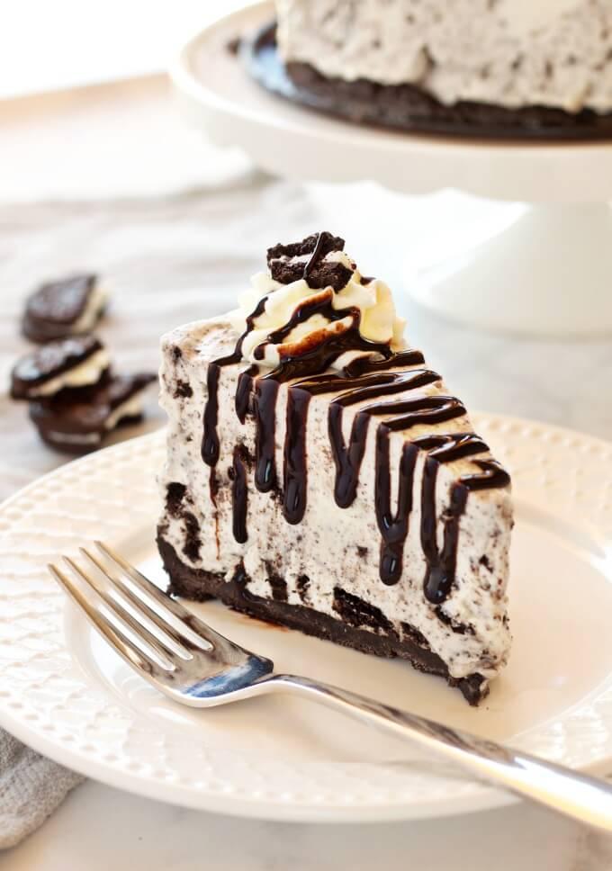 11. Easy No Bake Oreo Cheesecake