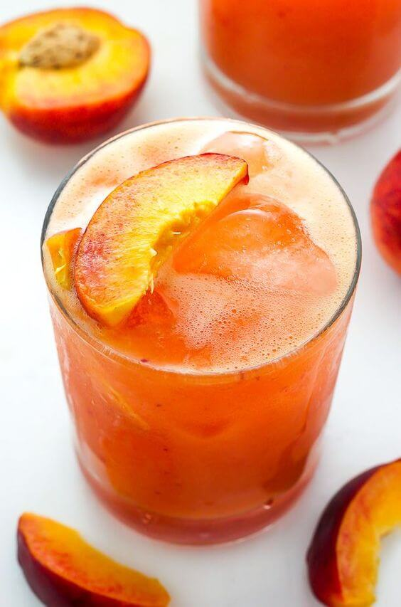 11. Fresh Peach Margarita