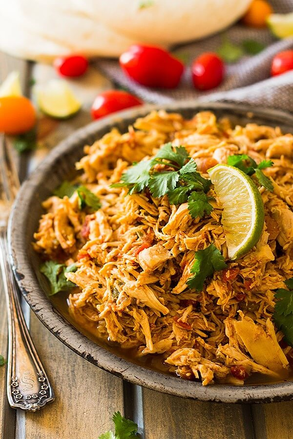 11.Shredded Mexican Chicken Tacos