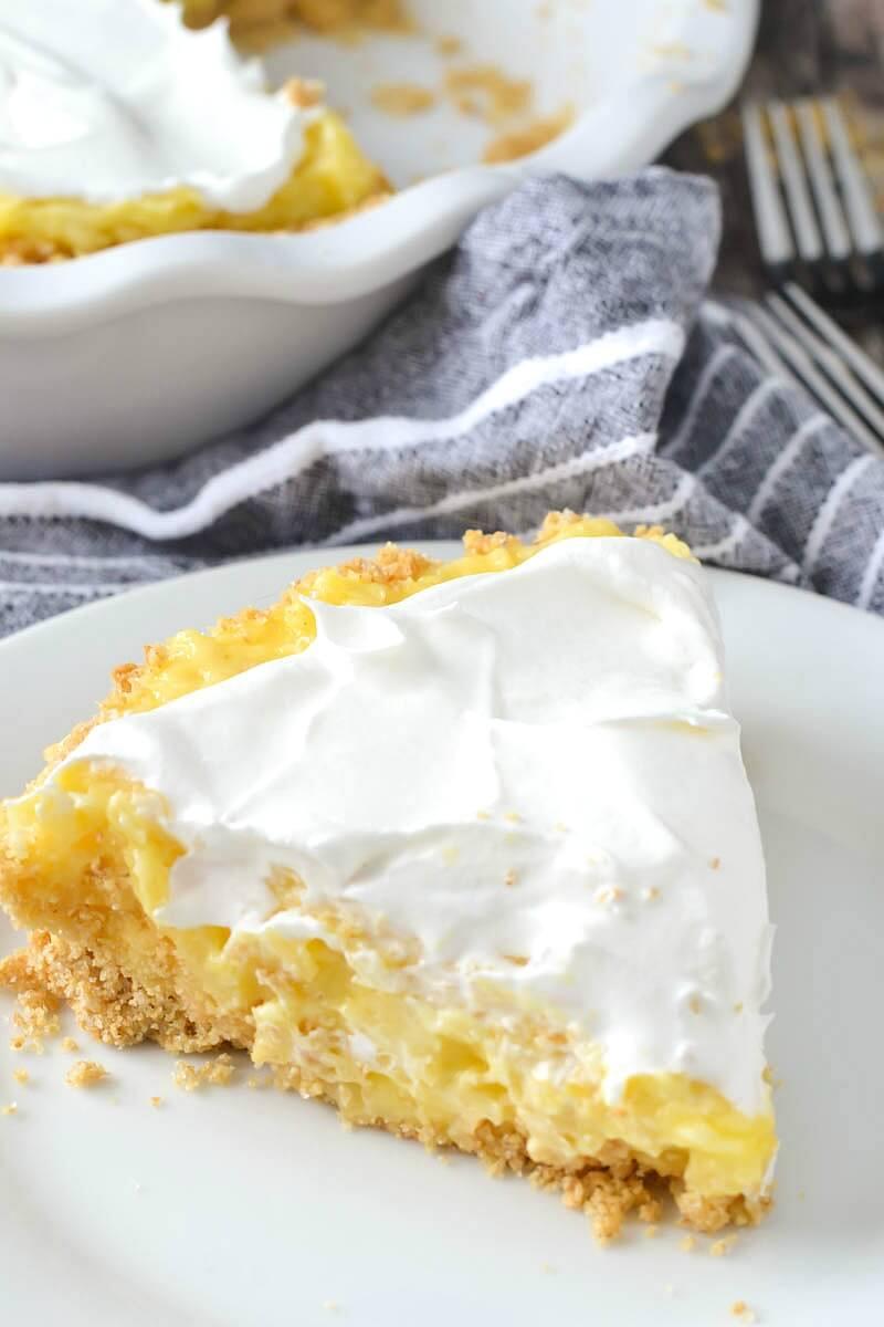 12. 5-Ingredient Pineapple Pie