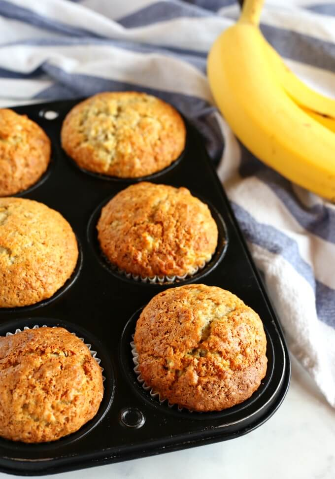 12. Banana Muffins