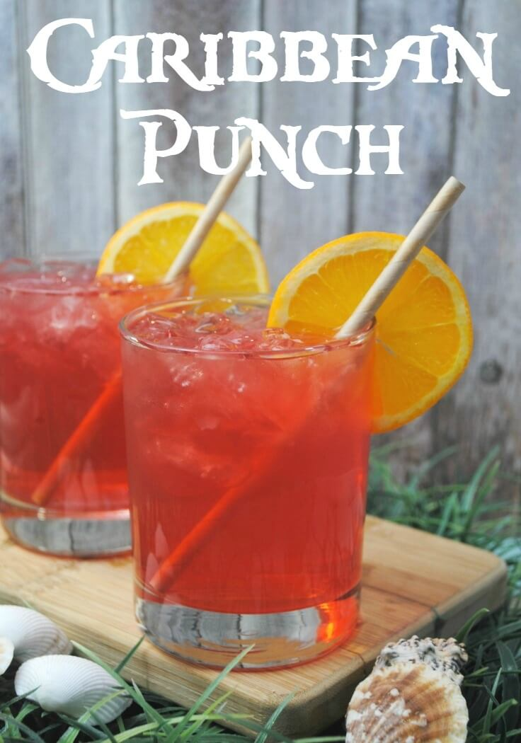 12. Caribbean Punch Cocktail