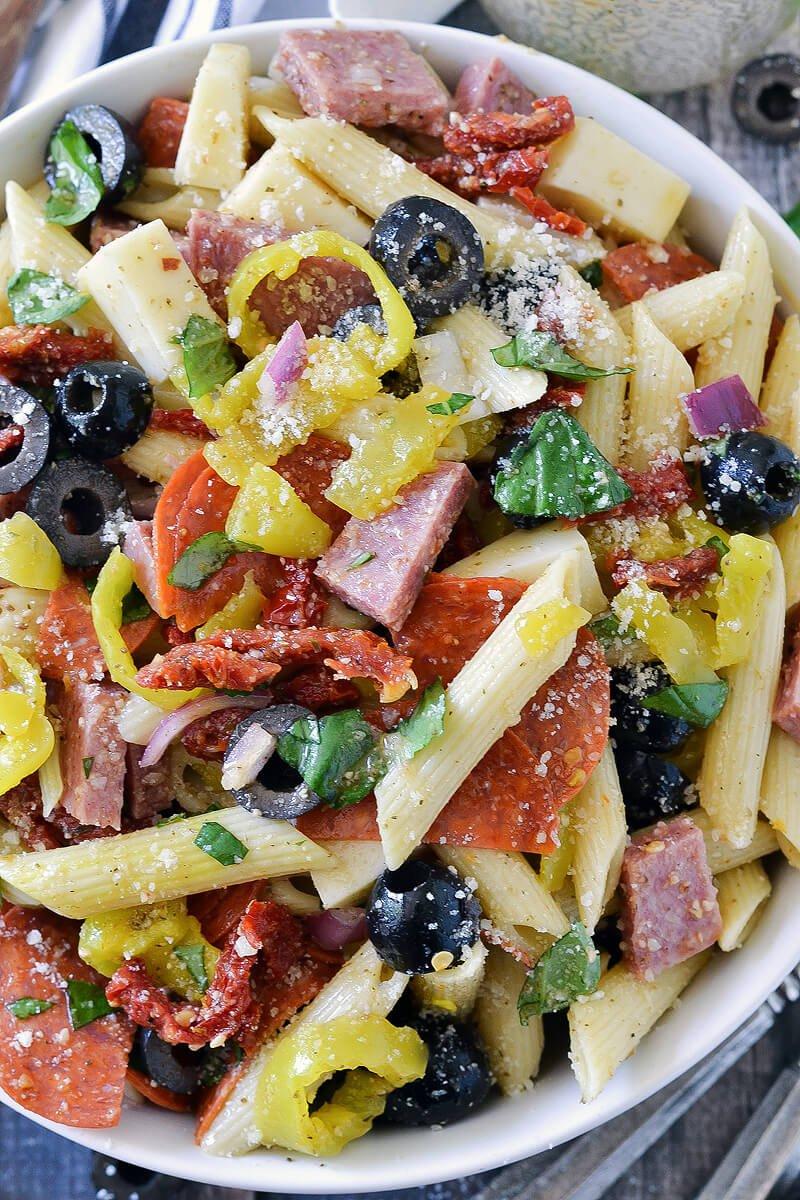 12.Italian Pasta Salad