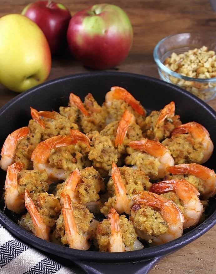 12.Jumbo stuffed shrimp