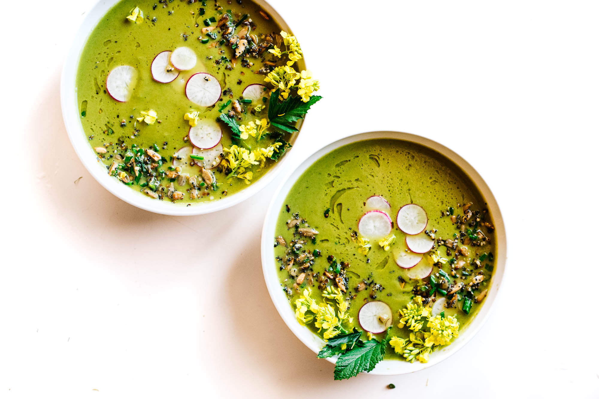 12. Roasted Fennel and Spring Green Soup