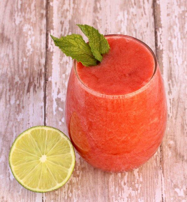 12. Strawberry Lime Slush