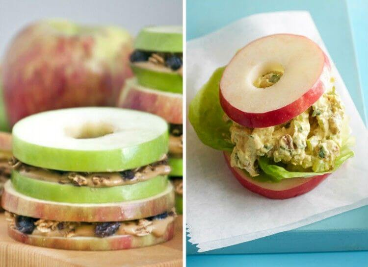 13. Apple Sanwiches