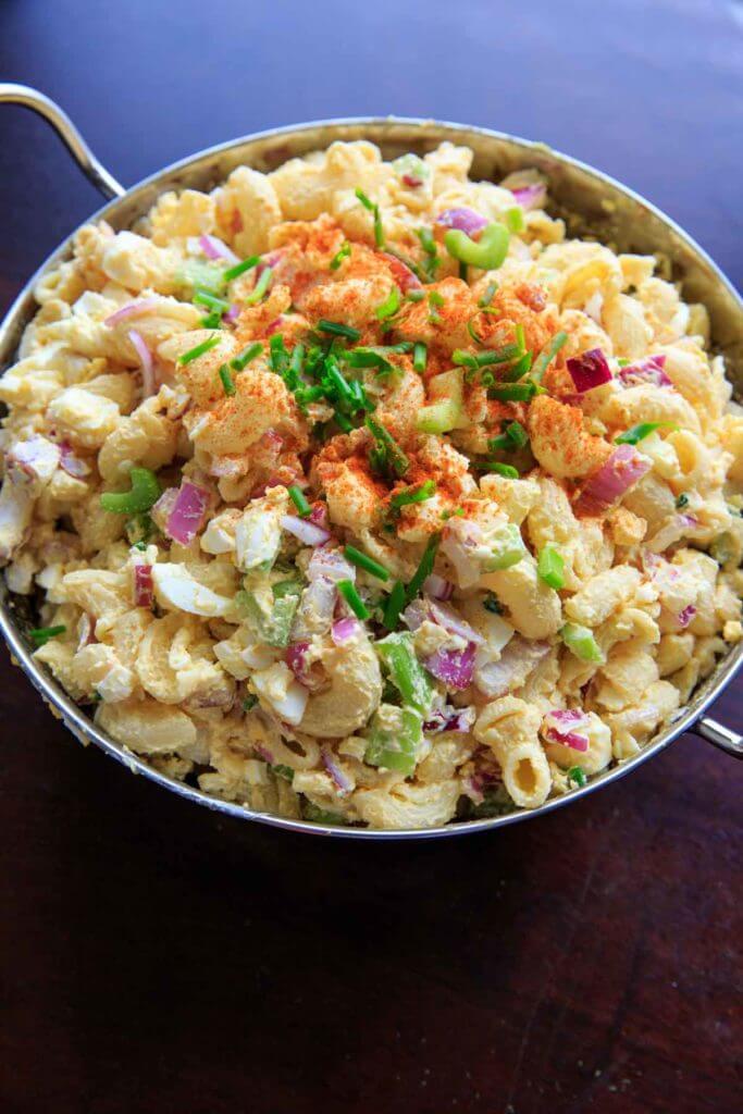 13.Deviled Egg Pasta Salad