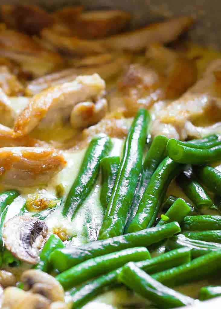 13. Green Bean Chicken Skillet