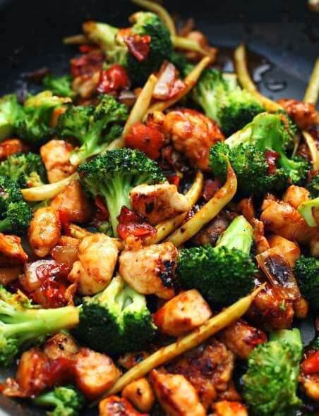 13. Orange Chicken Stir-Fry