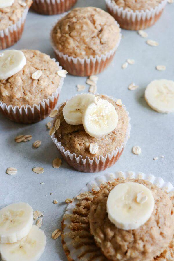 14. Banana Oat Muffins