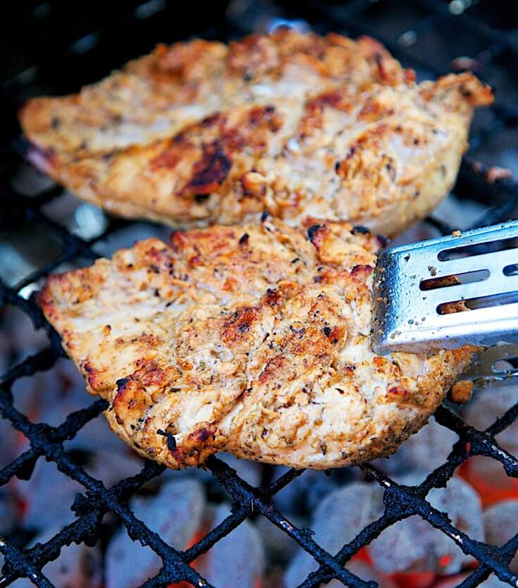 14.Mexican Lime Grilled Chicken
