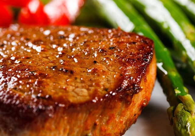 15. Country Beef Steak with Garlic Butter