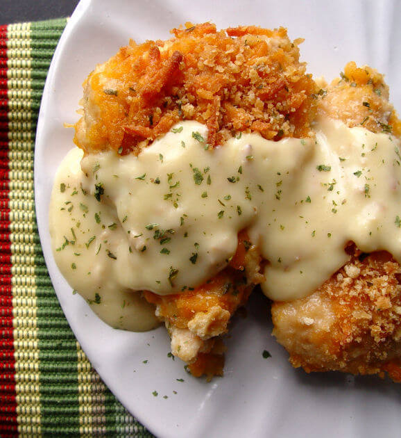 15. Crispy Cheddar Chicken