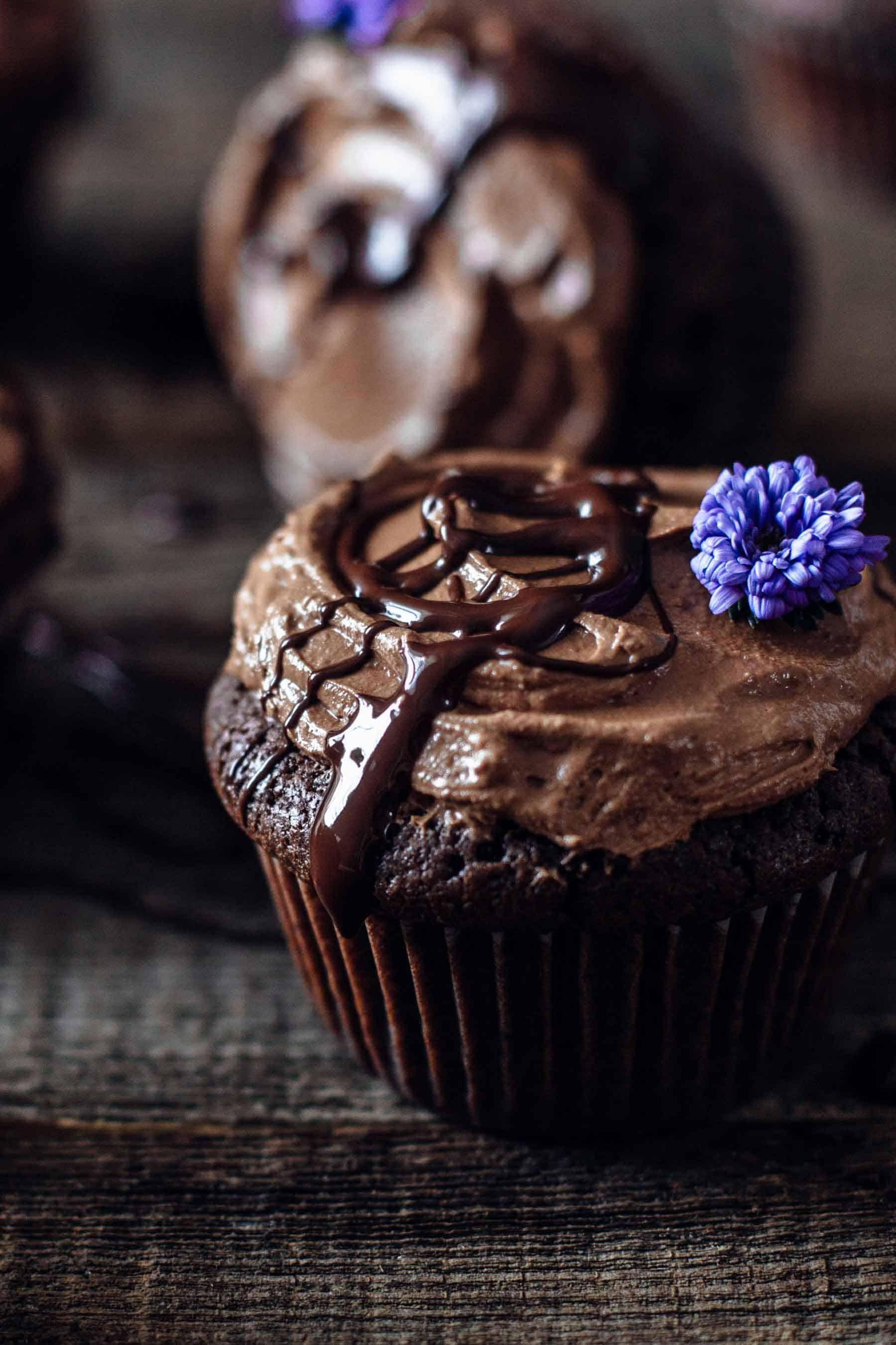 15. Fudgy Brownie Cupcakes