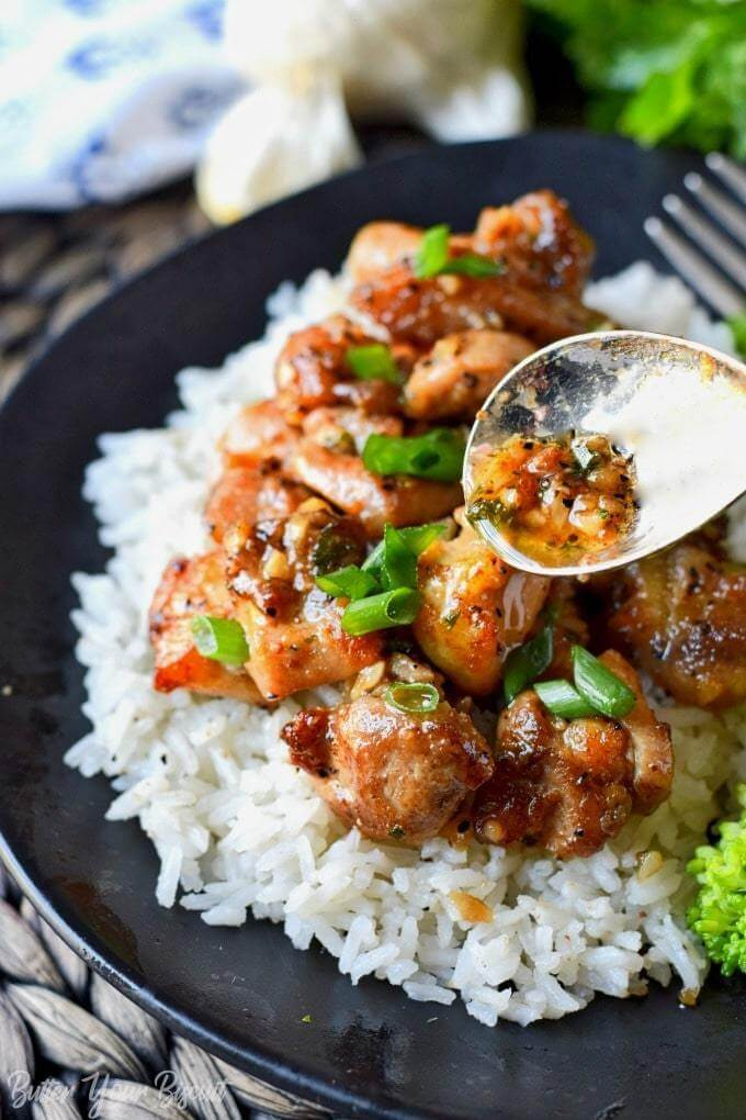 15. Honey Butter Garlic Chicken