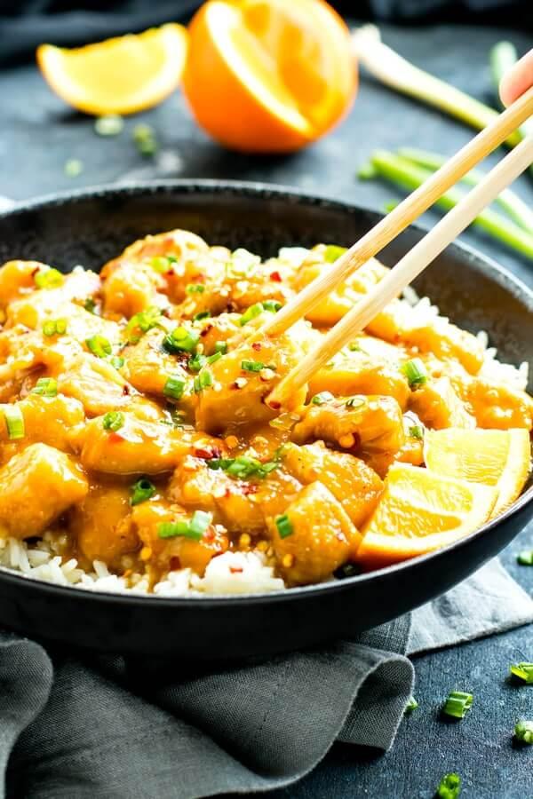 15.Instant Pot Orange Chicken