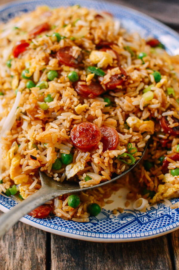16. Chinese Sausage Fried Rice