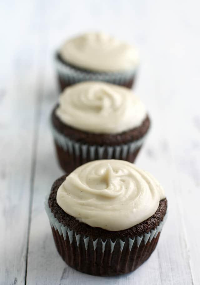 16. Gluten Free Vegan Chocolate Cupcakes