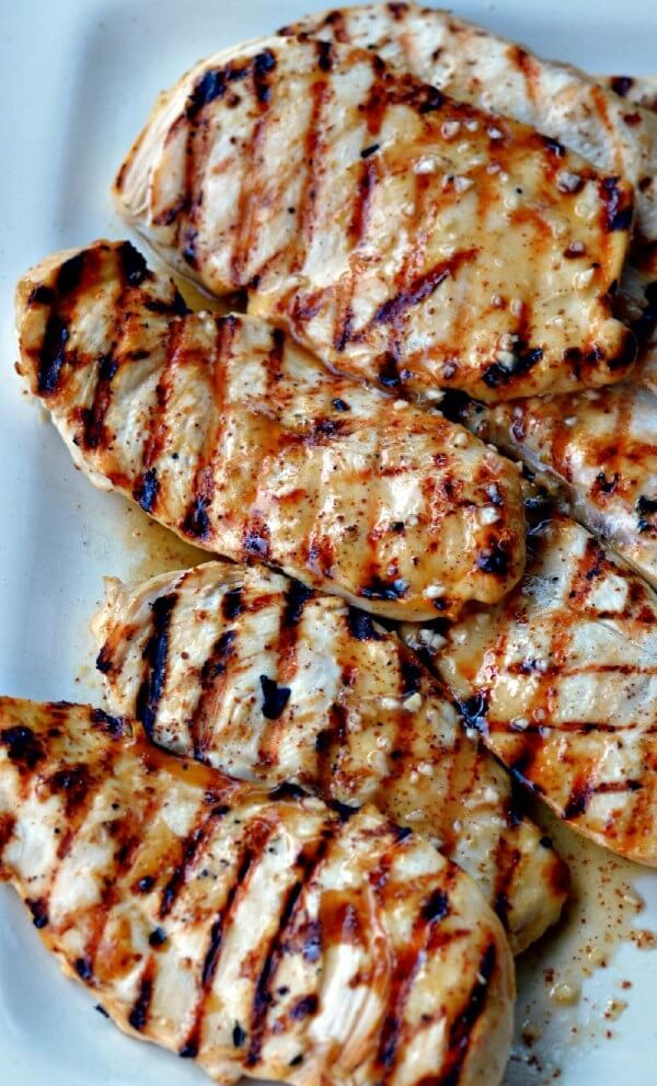 17. Basic Grilled Marinated Chicken