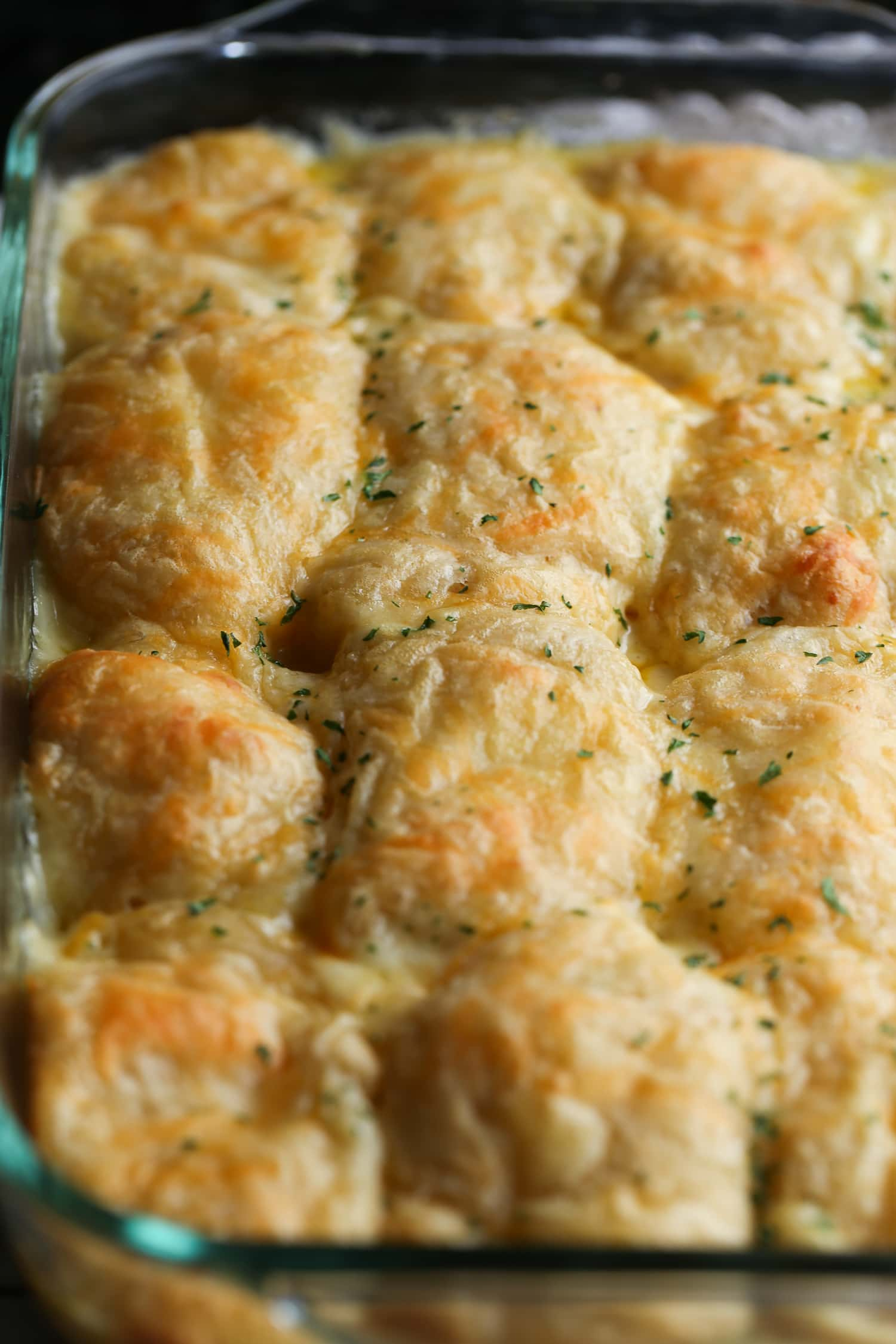 17. Cheesy Chicken Crescent Bake
