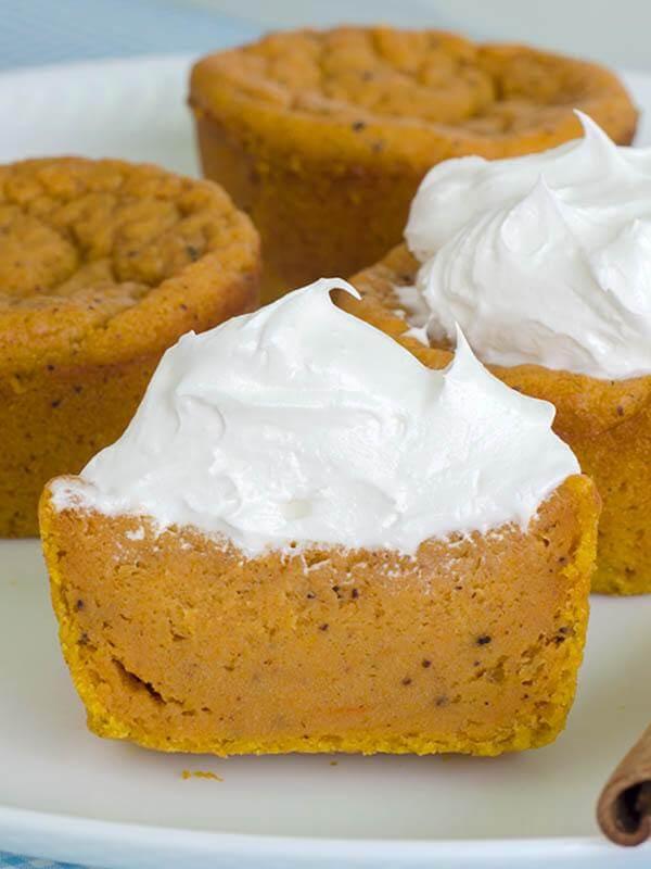 17.Pumpkin Pie Cupcakes