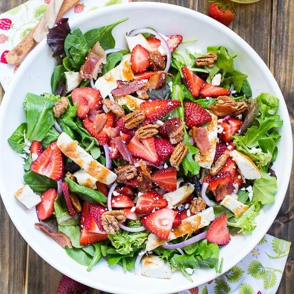 17. Strawberry Fields Salad