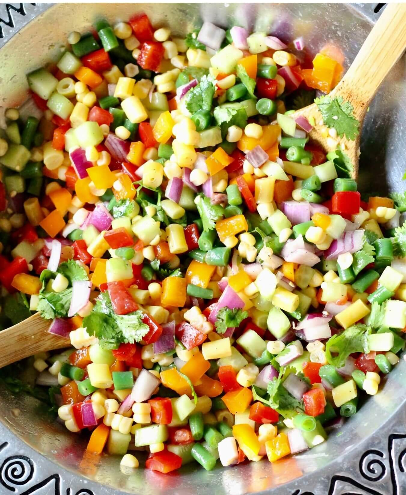 18. Chopped Vegetable Salad