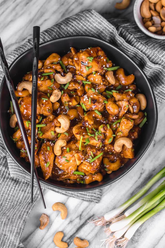 18. Instant Pot Cashew Chicken