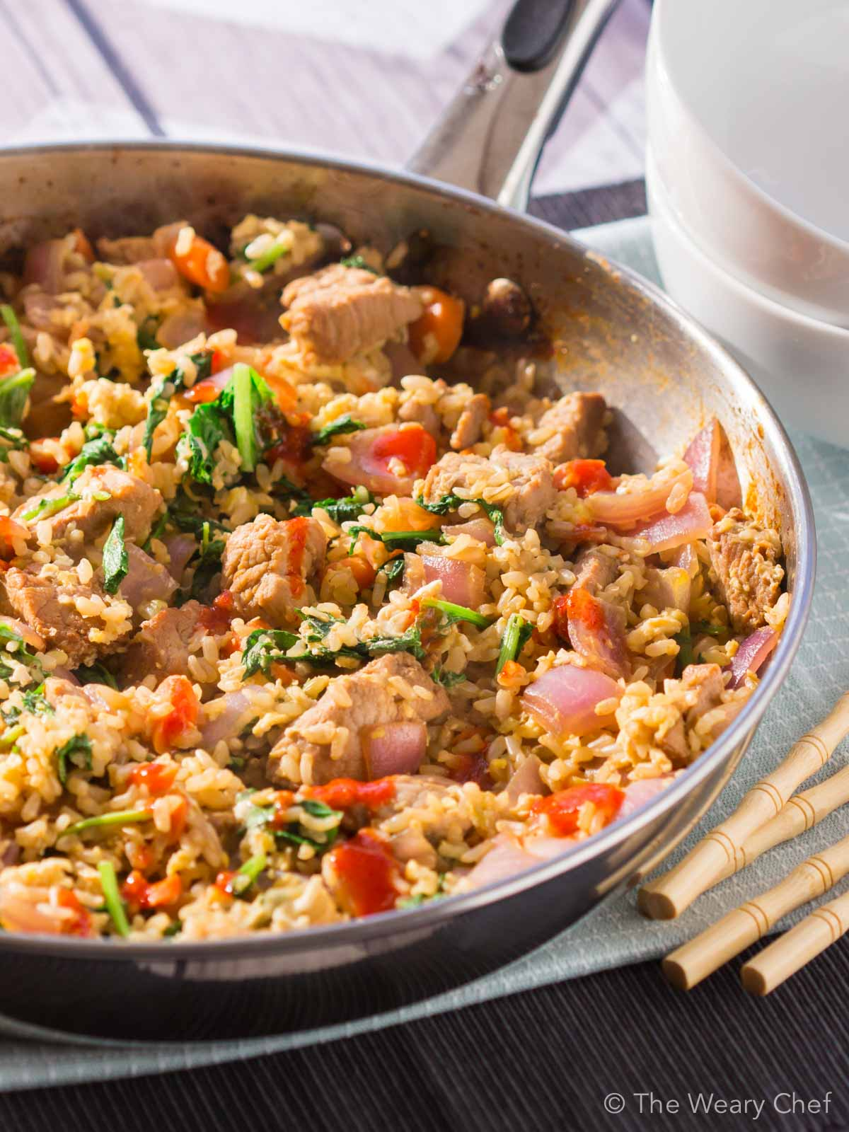 19. Easy Pork Fried Rice