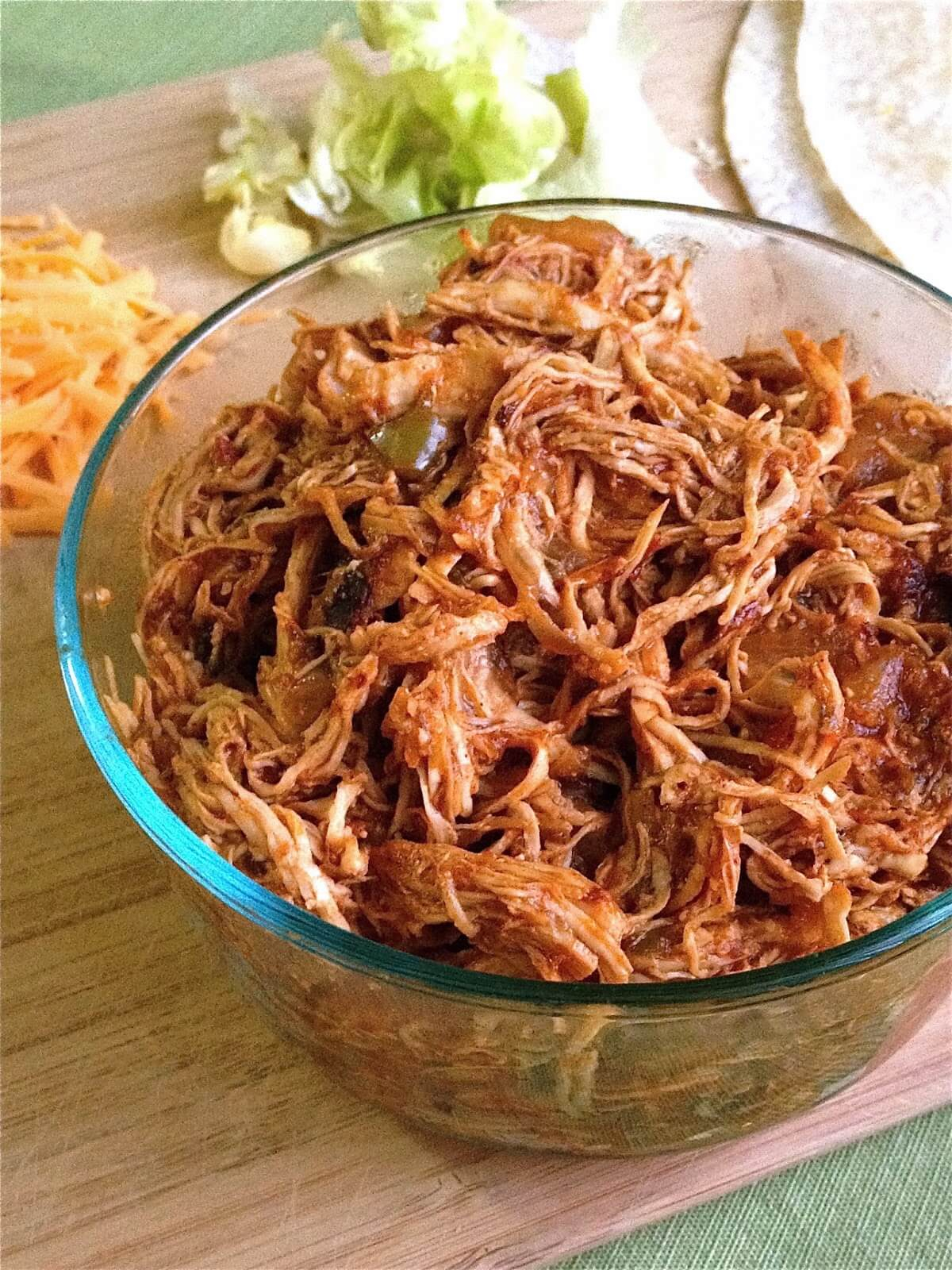 Shredded Chicken Recipes For Meals To Dinners Food