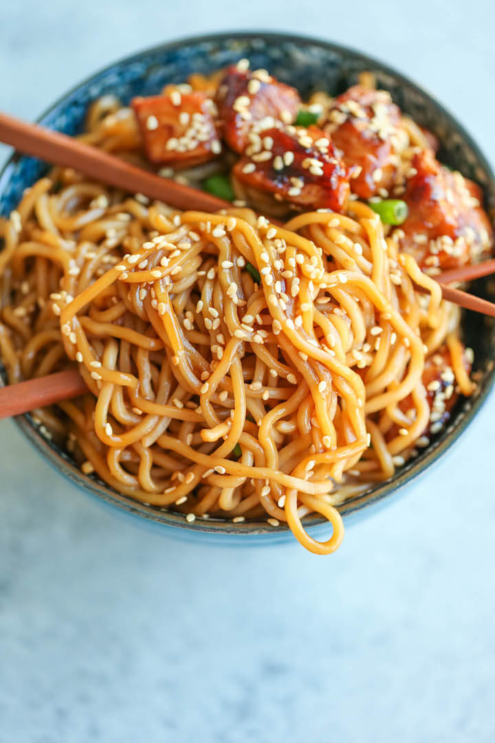 19.Teriyaki Chicken Noodle Bowl