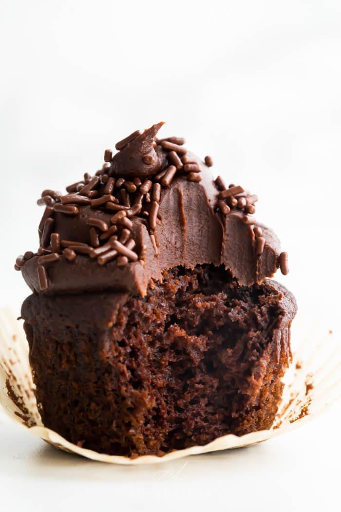 2. Dark Chocolate Paleo Cupcakes