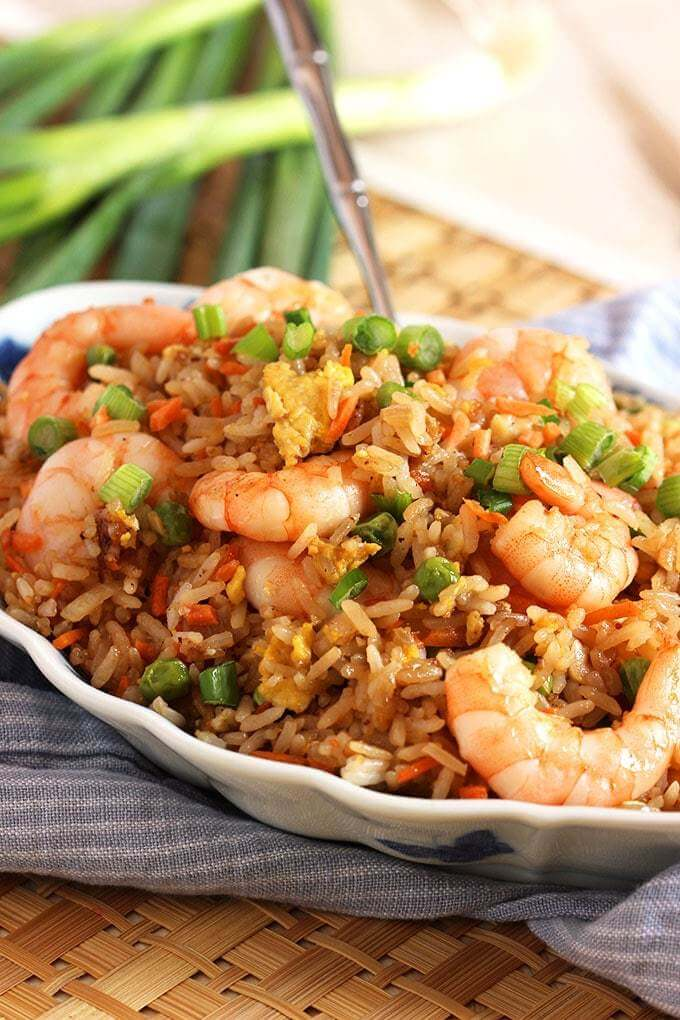 2. Easy Shrimp Rice