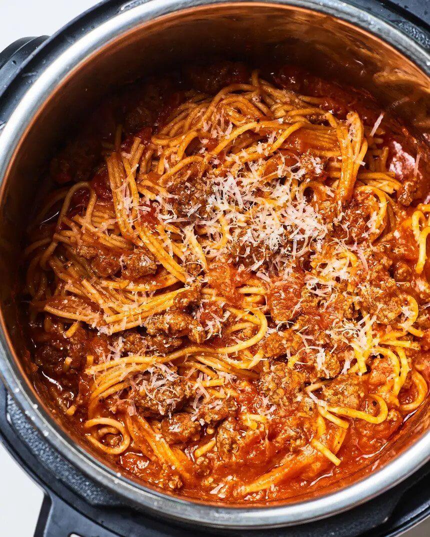 2.Instant Pot Spaghetti