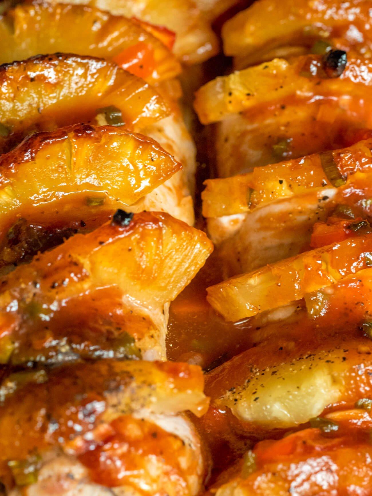 2. Juicy Hawaiian Pork Loin