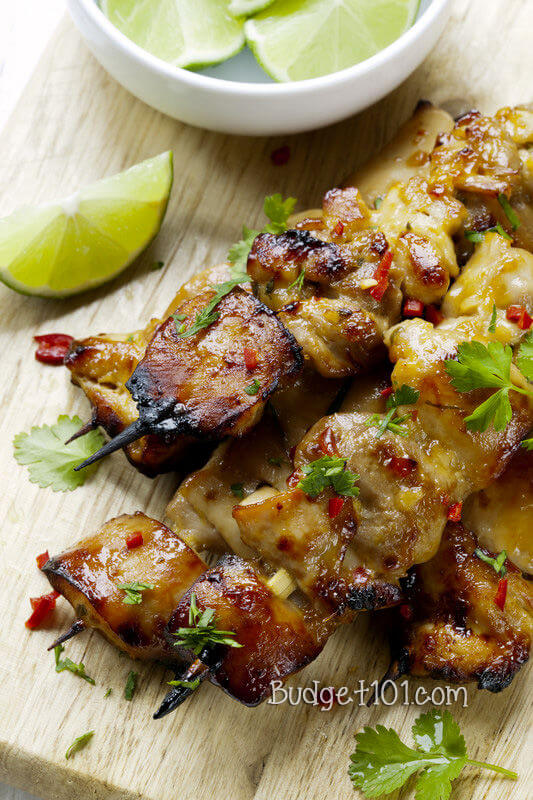 2. Key West Grilled Chicken Skewers