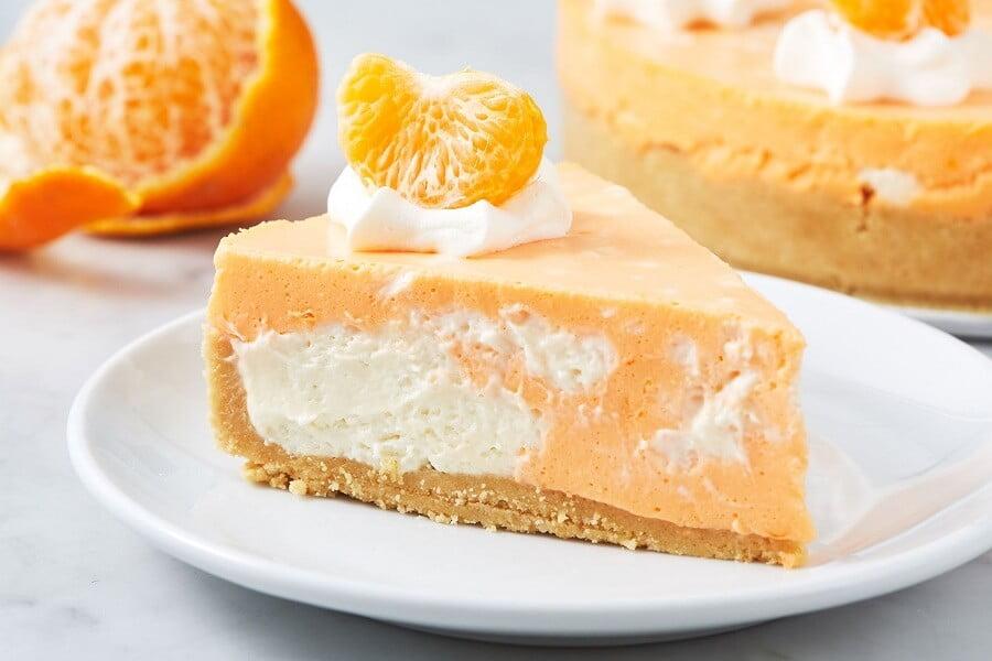 2. No Bake Creamsicle Cheesecake